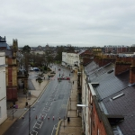aerial roof inspection in leamington spa during lockdown