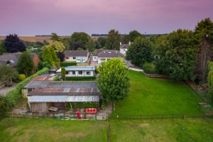real estate agency photo of bungalow garden stables and field