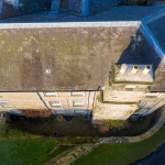 roof and chimney drone inspection peak district derbyshire